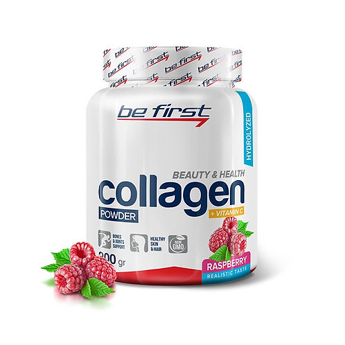 Be First-Collagen/vit C 200 гр - малина