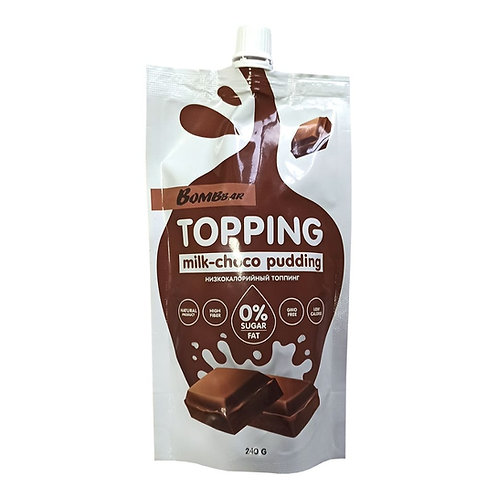 CHIKALAB-Топинг 240гр - шоколадный пудинг
