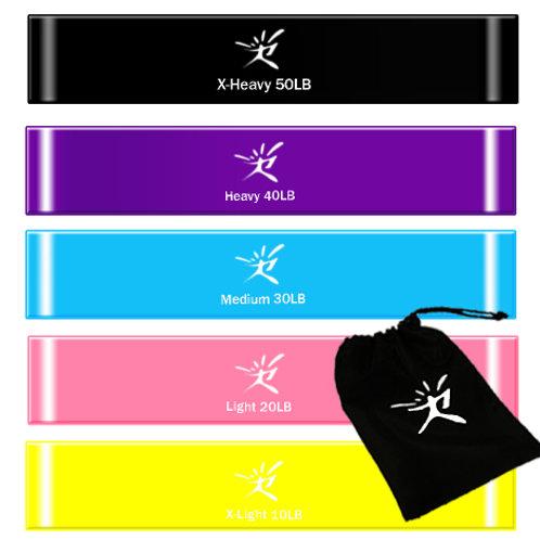 Резинки-Набор резинок для фитнесса