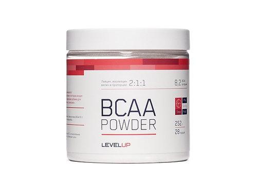 LevelUp-BCAA Powder 252 г - фруктовый пунш