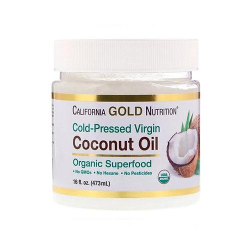 California GOLD Nutrition-COCONUT OIL EXTRA VIRGIN (473 мл)