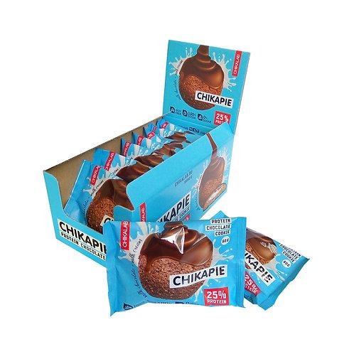 CHIKALAB-Печенье глазированное с начинкой 9*60 гр.- шоколад