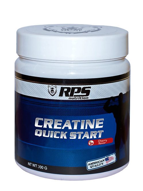 RPS Nutrition-Creatine Quick Start 300 гр - вишня