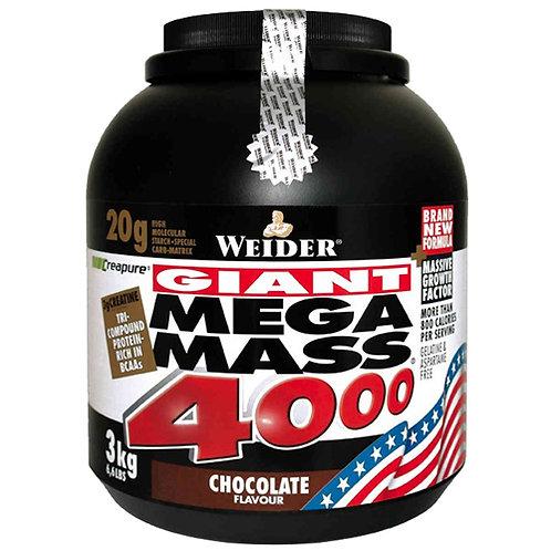 Weider (Германия)-Mega Mass 4000 3000 г - белый шоколад-миндаль