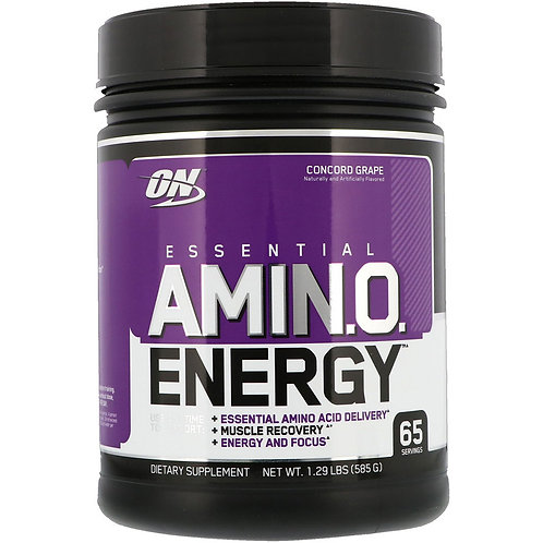 Optimum Nutrition-Amino Energy 585 гр - виноград