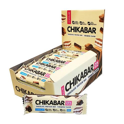 CHIKALAB-Батончик глазированный с начинкой 20*60 гр.- тирамису