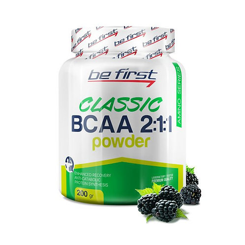 Be First-BCAA 2:1:1 CLASSIC powder 200 гр - ежевика