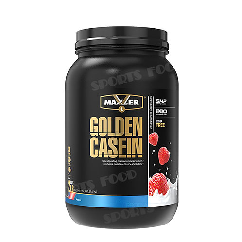Maxler-Golden Casein 908 г - клубника