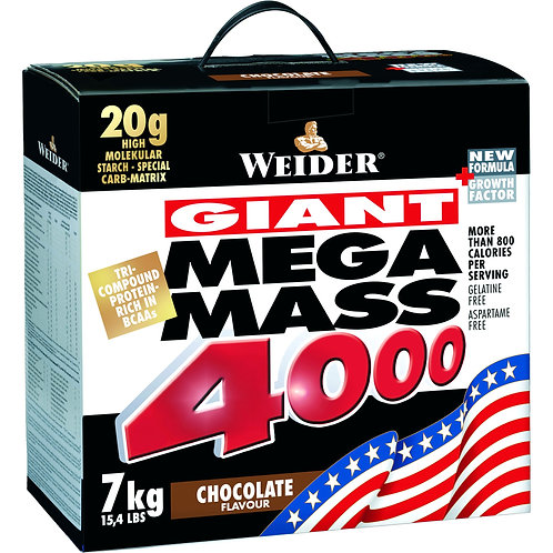 Weider (Германия)-Mega Mass 4000 7000 г - клубника