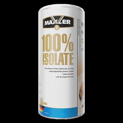 Maxler-100% Isolate 450 гр (карт. банка) - кофе со льдом
