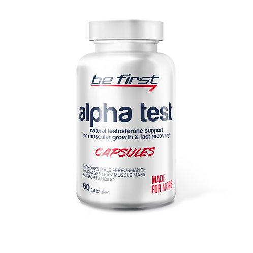 Be First-Alpha TEST 60 капс