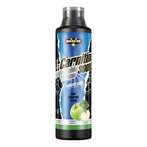 Maxler-L-Carnitine 3000 500 мл - зеленое яблоко