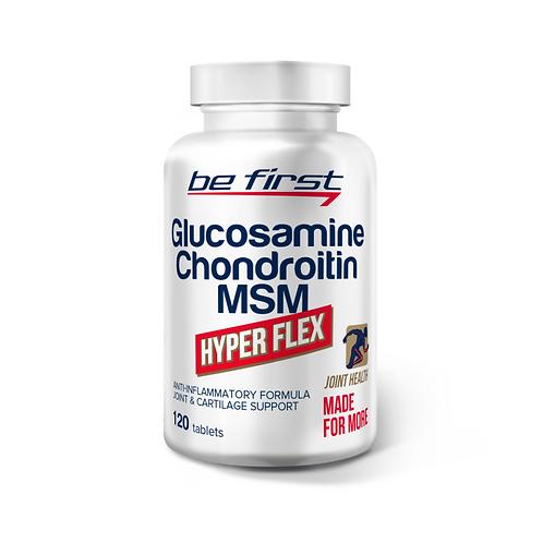 Be First-Glucosamine+Chondroitin+MSM hyper flex 120 капс