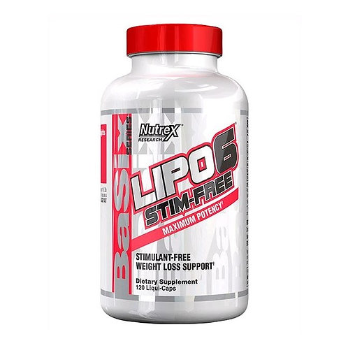 Nutrex-Lipo-6 stim-free 120 капс