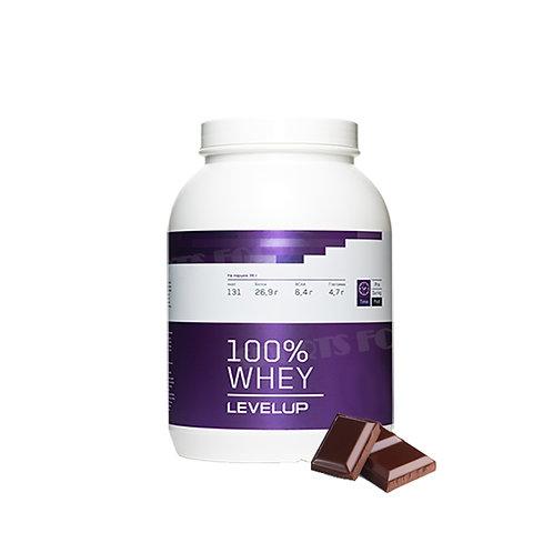 LevelUp-100% Whey 2270 г - шоколад