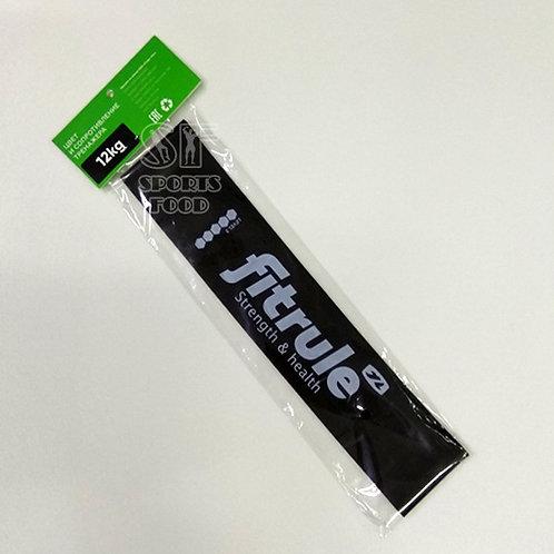 FitRule-Фитнес-резинка для ног - чёрная (12 кг)