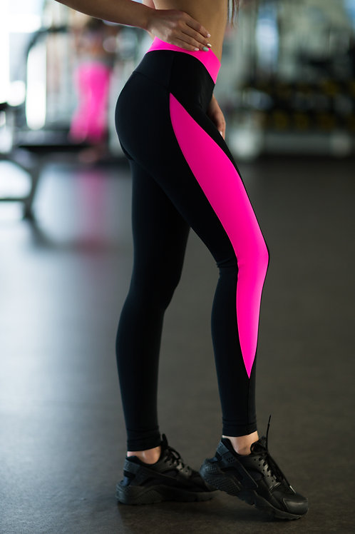 DF-Basic Pink Леггинсы