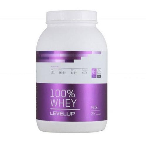 LevelUp-100% Whey 2270 г - лимонный пирог