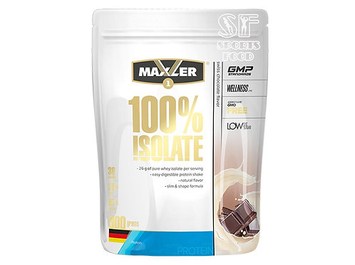 Maxler-100% Isolate 900 гр - швейцарский шоколад