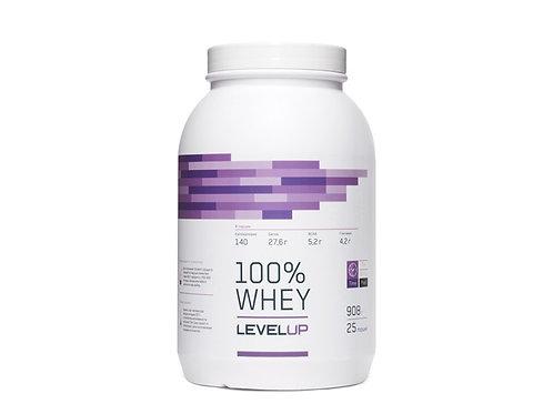 LevelUp-100% Whey 908 г - шоколад-орех