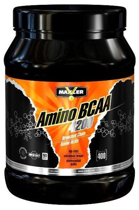 Maxler-Amino BCAA 4200 мг 400 таб