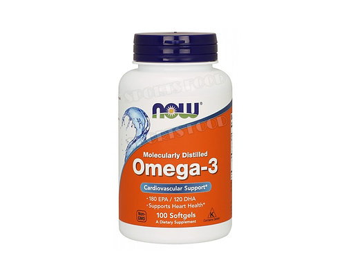 NOW-Omega 3 1000 мг 100 капс