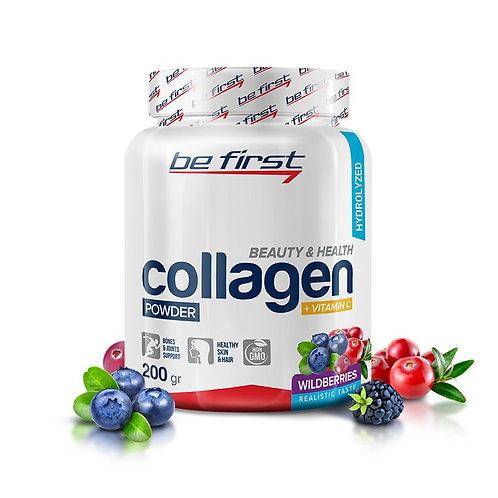 Be First-Collagen/vit C 200 гр - лесные ягоды
