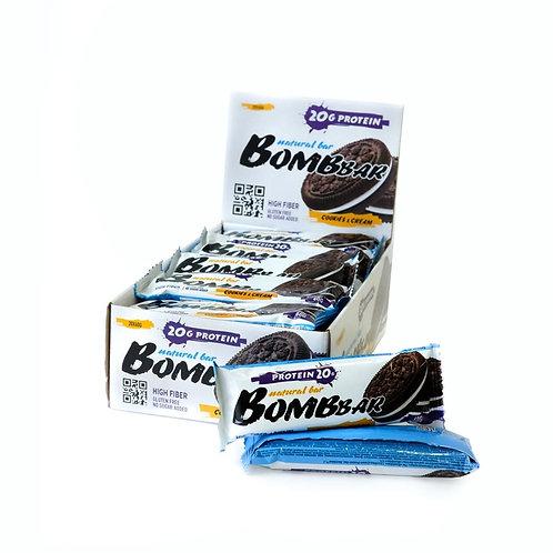 BOMBBAR-Батончик Bombbar 20*60 г - печенье-крем