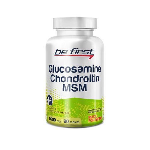 Be First-Glucosamine+Chondroitin+MSM 90 таб