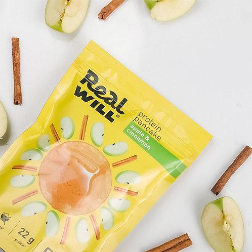 Real WILL-Смесь сухая для приготовления блинов 400гр - яблоко-корица