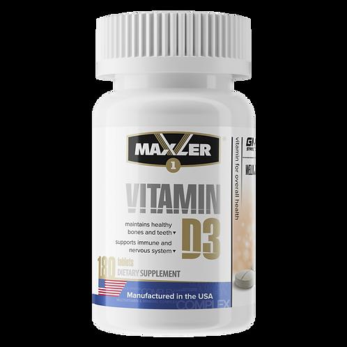 Maxler-Vitamin D3 180 таб