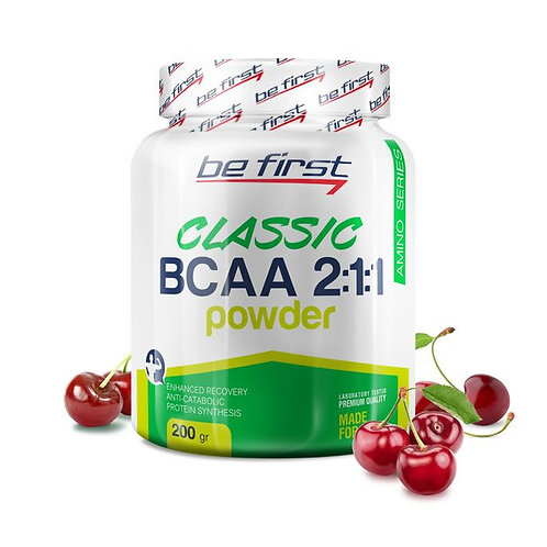 Be First-BCAA 2:1:1 CLASSIC powder 200 гр - вишня