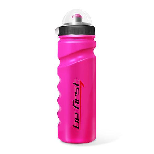 Be First-Бутылка для воды Be First 750 мл с крышкой - розовая (75-pink)