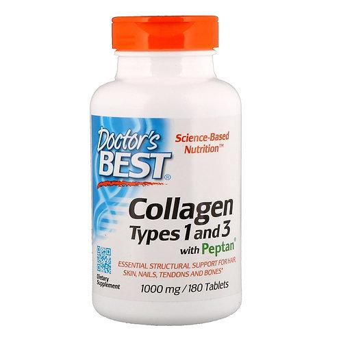 Doctors BEST-Collagen тип 1 и 3 180 таб