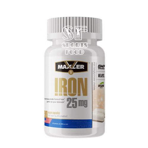 Maxler-Iron 25 мг 90 вег капс