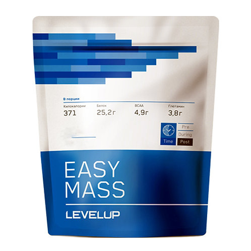 LevelUp-EasyMass 3000 г - малина