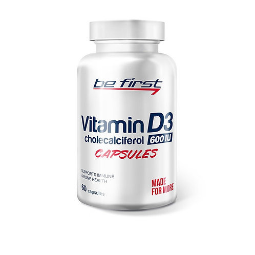 Be First-Vitamin D3 60 гелевых капс
