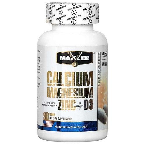 Maxler-Calcium  Magnesium Zink 90 таб + D3