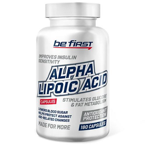 Be First-Alpha lipoic acid 180 капс
