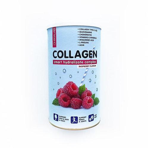 CHIKALAB-коктейль collagen CHIKALAB 400 гр - малина