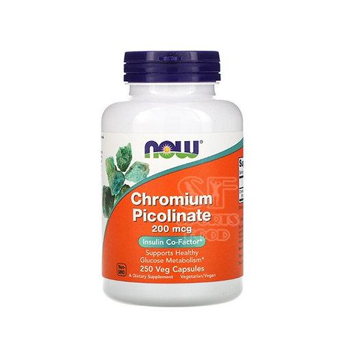 NOW -Chromium Picolinate 200 mg 250 капс