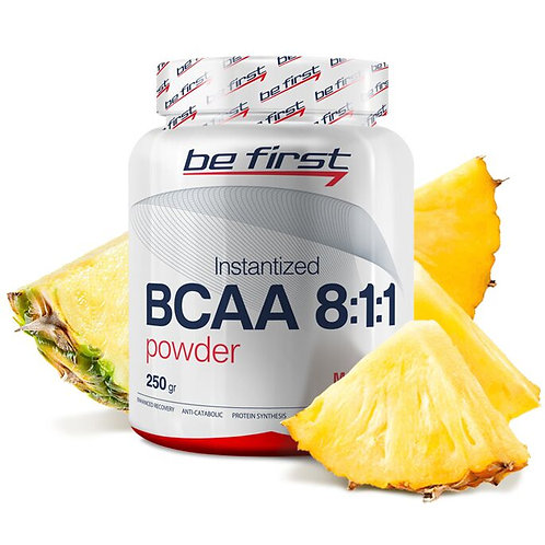 Be First-BCAA 8:1:1 INSTANTIZED powder 250 гр - ананас