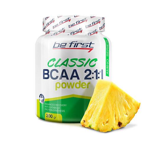 Be First-BCAA 2:1:1 CLASSIC powder 200 гр - ананас