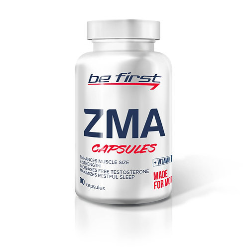 Be First-ZMA + vitamin D3 90 капс