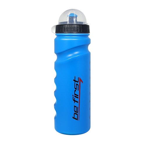 Be First-Бутылка для воды Be First 750 мл с крышкой - синяя (75-blue)