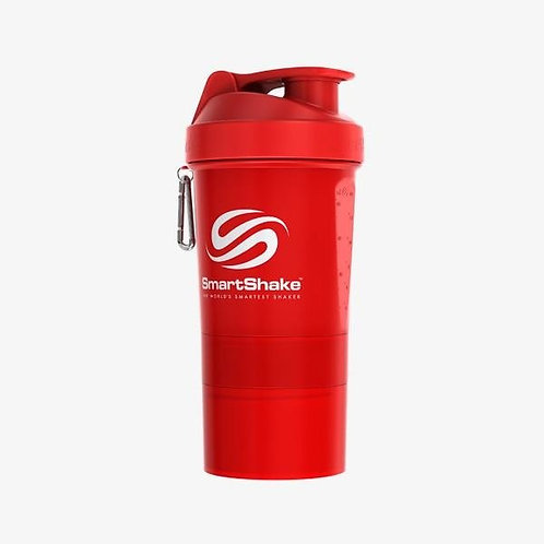 SmartShake-Шейкер Neon 600 мл - красный