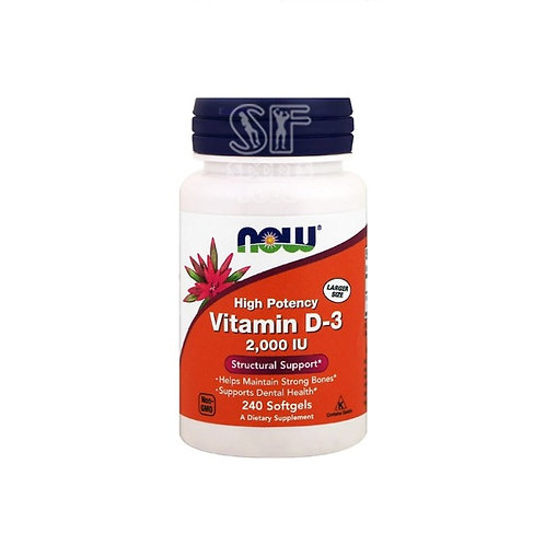 NOW-Vitamin D-3 5000 IU 240 таб