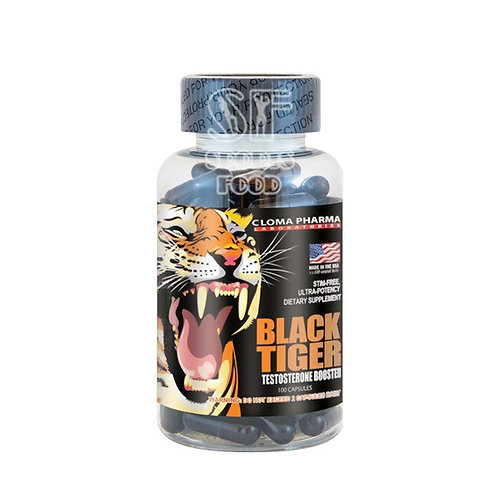 Cloma Pharma-Tiger Black 100 капс