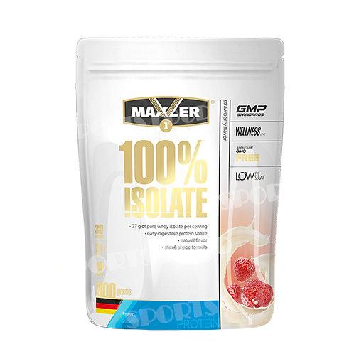 Maxler-100% Isolate 900 гр - клубника