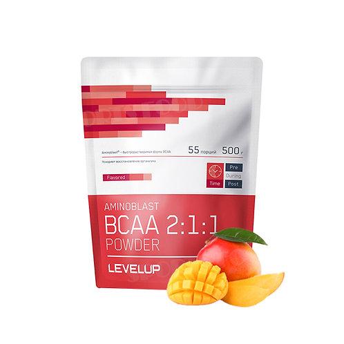 LevelUp-Aminoblast BCAA Powder 500 г - манго